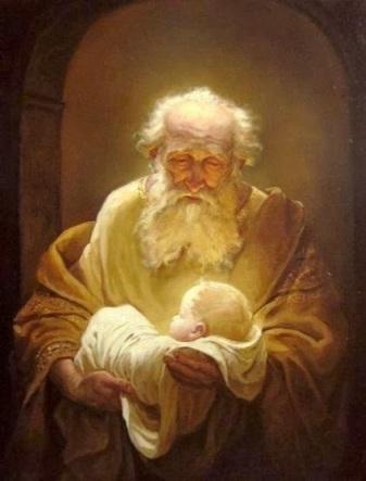Andrey Shishkin Simeón y el Niño Jesús.